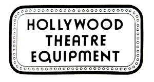 Hollywood Theater Equipment